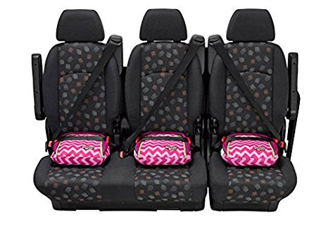 Bubble Bum Inflatable Car Booster Seat - Pink