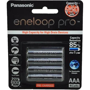 Eneloop AAA4x Pro Rechargeable Battery