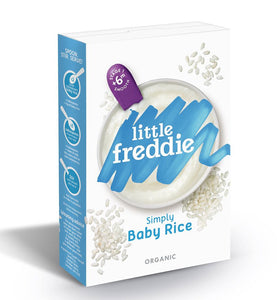 Little Freddie Organic Simply Baby Rice (120g)