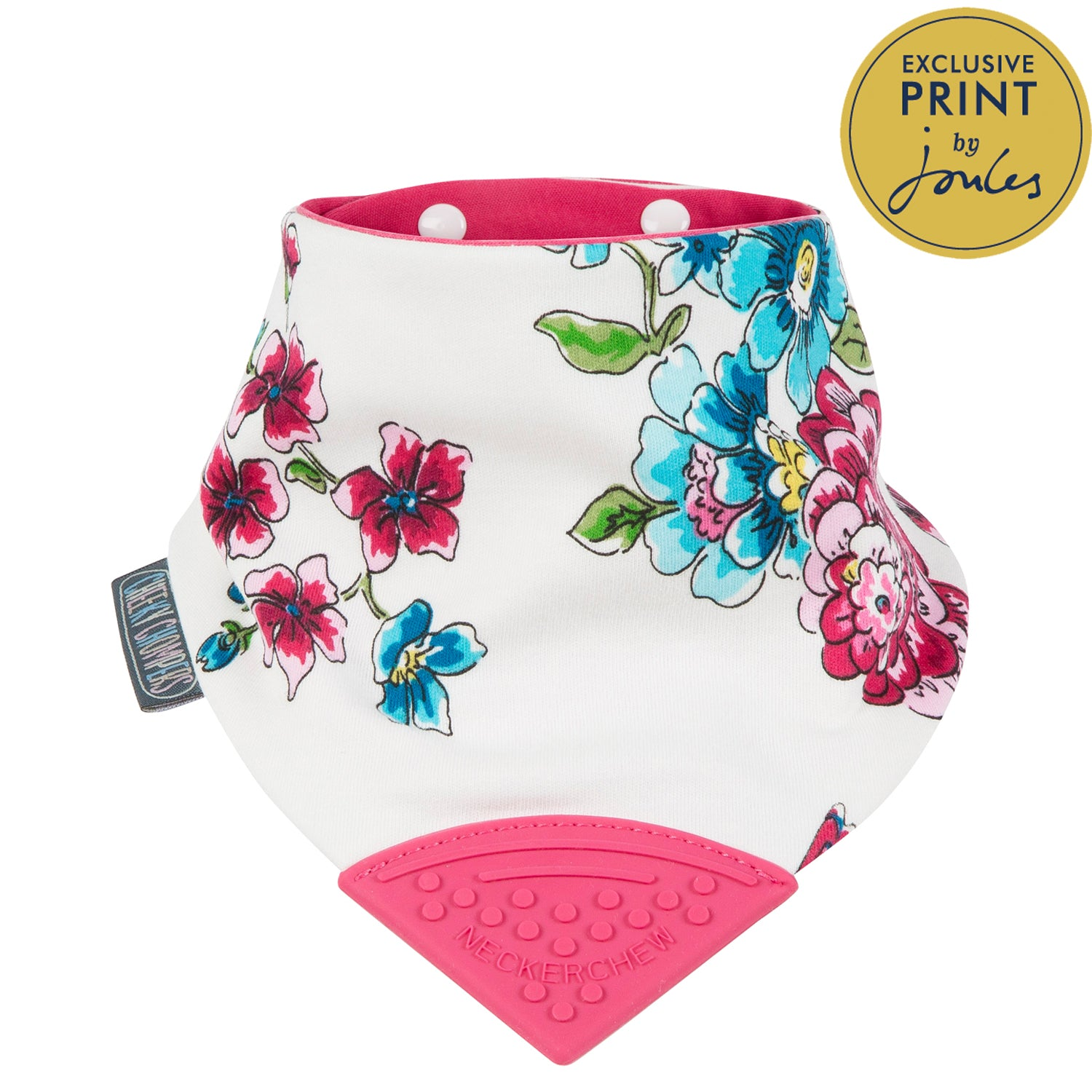 Cheeky Chompers Neckerchew Anna Floral