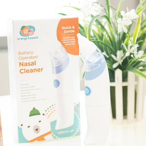 Orange & Peach Nasal Cleaner (Battery Operated)