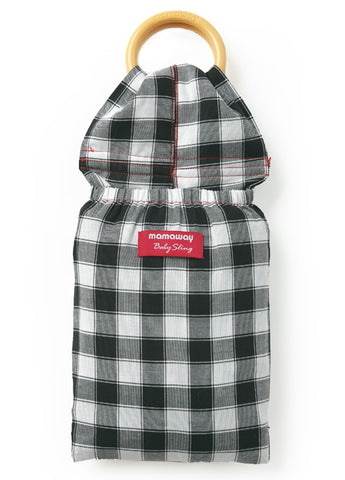 59949 Mamaway Baby Ring Sling Gingham Chunky