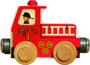 Maple Landmark Name Train Fire Truck