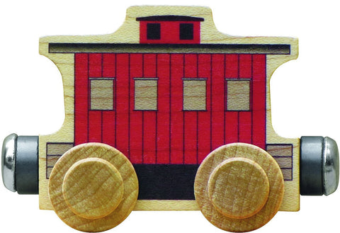 Maple Landmark Name Train Classic Caboose
