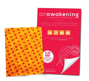 Purple Frog Air Awakening Patch, with Peppermint & Eucalyptus - 1 pack