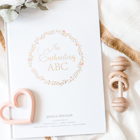Adored Illustrations The Enchanting ABC Book
