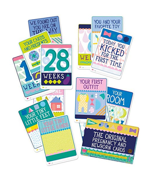 Baby Milestone The Original Pregnancy Cards