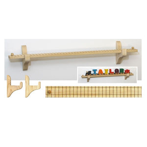 "Maple Landmark NT Wall Mount 22.5"" Track/8 Car"