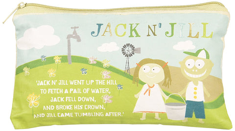 Jack N' Jill Sleepover/ Wash Bag