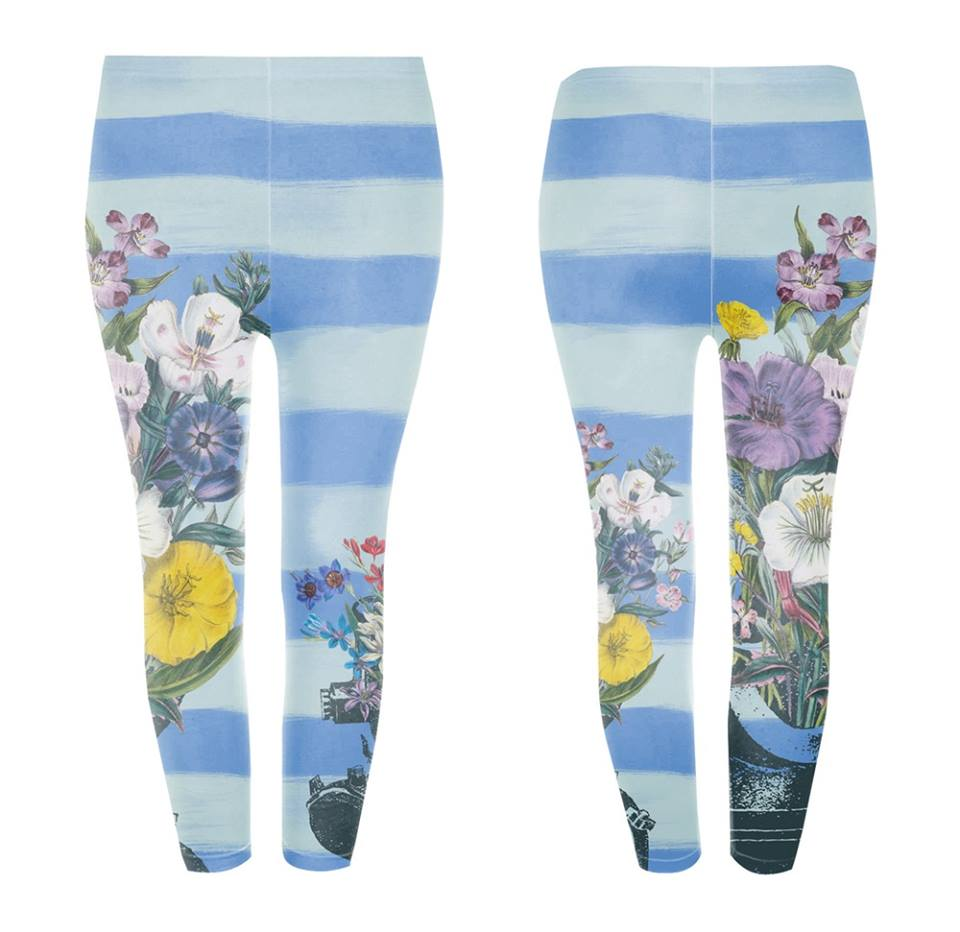 Googoo and Gaga Kids Leggings Flower Diver