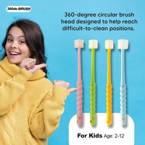 360do 2-12y Kids Toothbrush