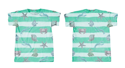 Googoo and Gaga Boys Tee Sea Creatures