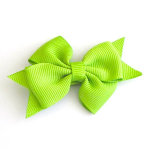 Celestina & Co. Petite Signature Bow Apple Green