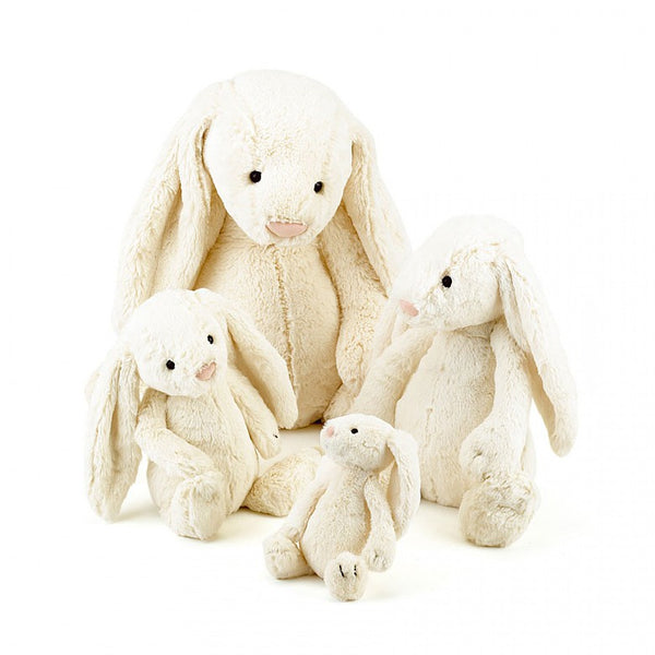 Jellycat Bashful Cream Bunny (Small/Medium)