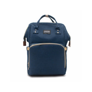 Babybee Fashion Maternity Nappy Bag - Ellie Navy Blue