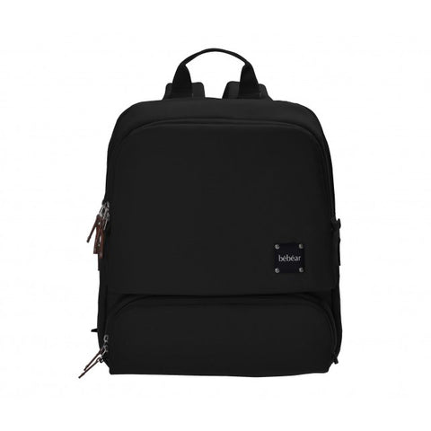 Bebear Bennett Diaper Backpack - Licorice Black