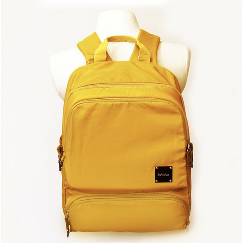 Bebear Bennett Diaper Backpack - Mustard Yellow