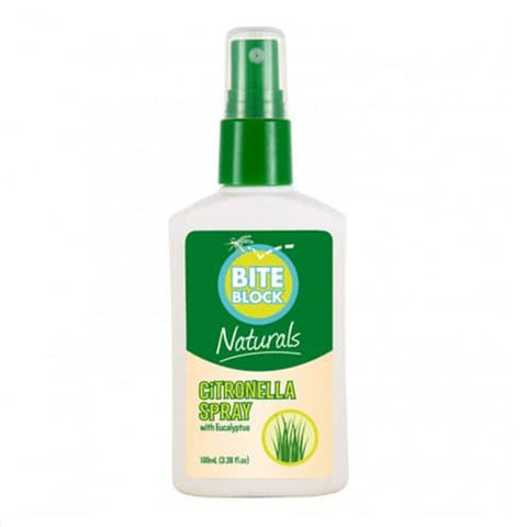 Bite Block Insect Repellent Citronella Spray 100ml