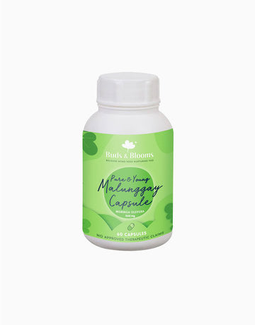 Buds & Blooms Pure & Young Malunggay Capsule 60ct