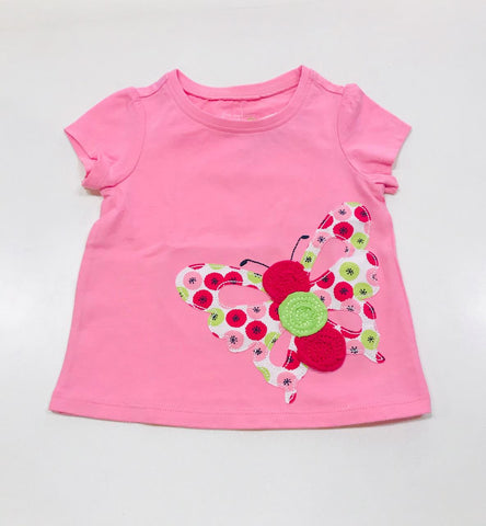 Butterfly Sweet Candy Top Pink