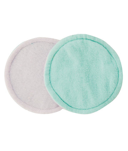Seve's Mom Cloth Nursing Pads - Turquoise (Set of 3 Pairs)
