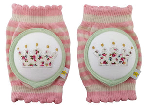 Crawlings Cotton Candy Crown Knee Pads