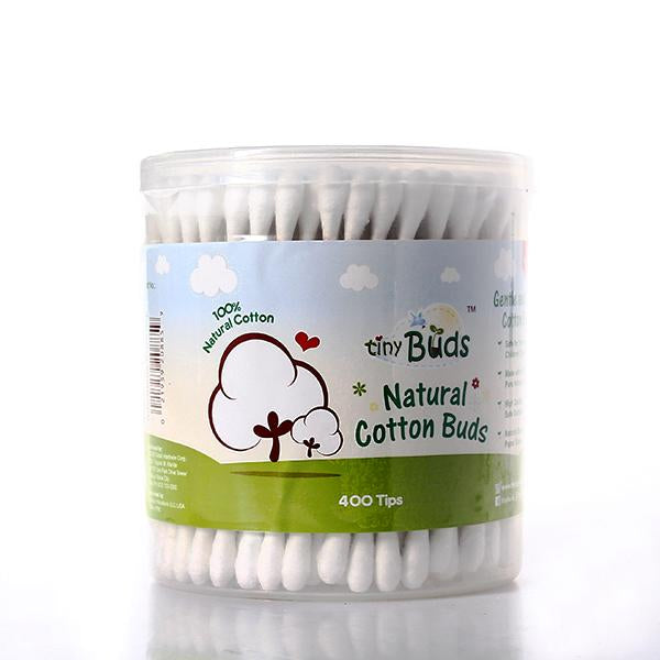 Tiny Buds Natural Cotton Buds - 400 Tips