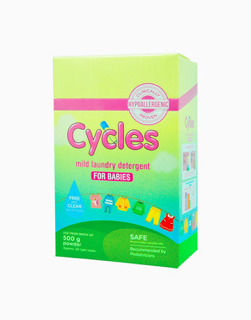 Cycles Sensitive Powered Detergent 500g