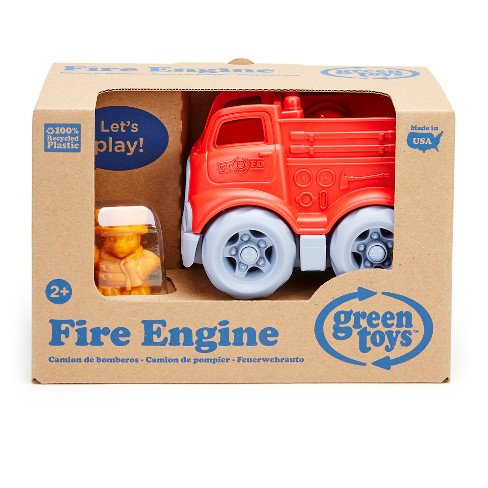 Green Toys Fire Engine w/ Character