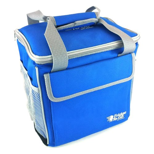 Fridge To Go 24 Can Rolling Cooler Royal Blue