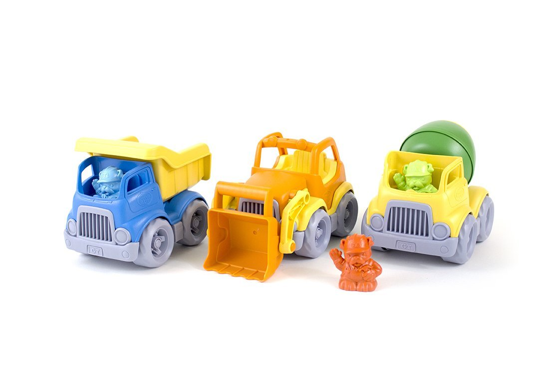 Green Toys Construction Vehicle - 3 pck