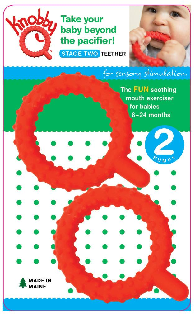 Chewy Tubes Knobby Q 2pk (Stage 2) - Red