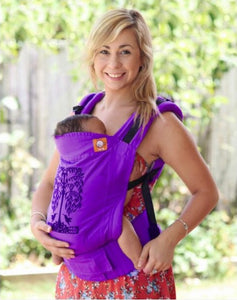 Tula Baby Carrier Hummingbirds Purple - Limited Edition