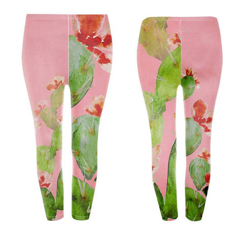 Googoo and Gaga Kids Leggings Cactus