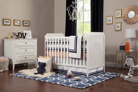 DaVinci Baby Poppy Regency 3-in-1 Convertible Crib