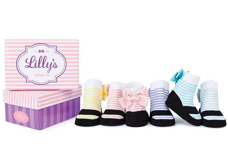 Trumpette Lilly's Socks, 6 Pack