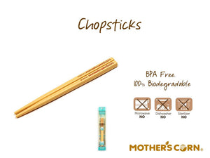 Mother's Corn Chopsticks Small