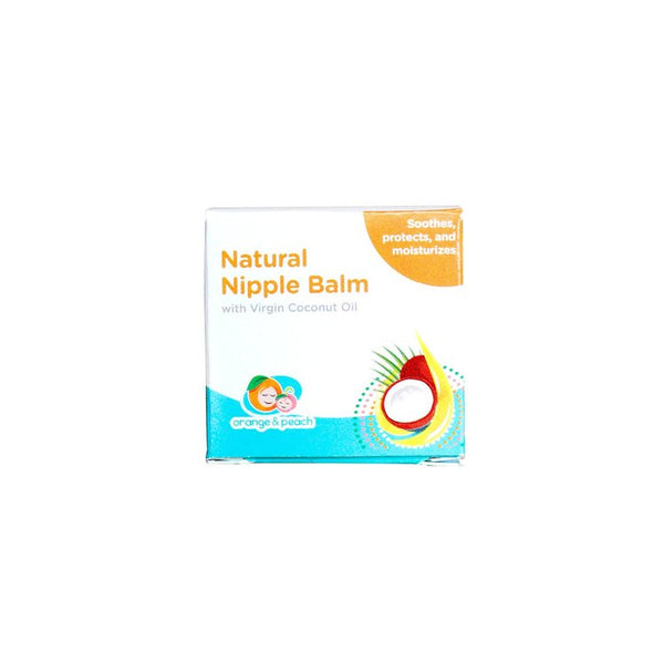 Orange and Peach Natural Nipple Balm - 30g