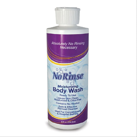No Rinse Moisturizing Body Wash 8oz