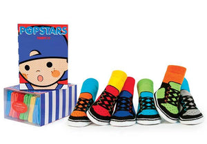 Trumpette Pop Stars Socks, 6 Pack