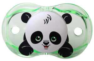RaZbaby Keep-It-Clean Pacifier, Panky Panda