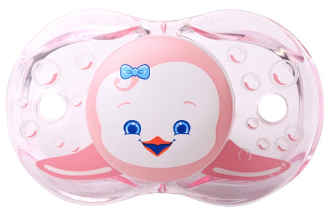 RaZbaby Keep-It-Clean Pacifier, Reilly Penguin