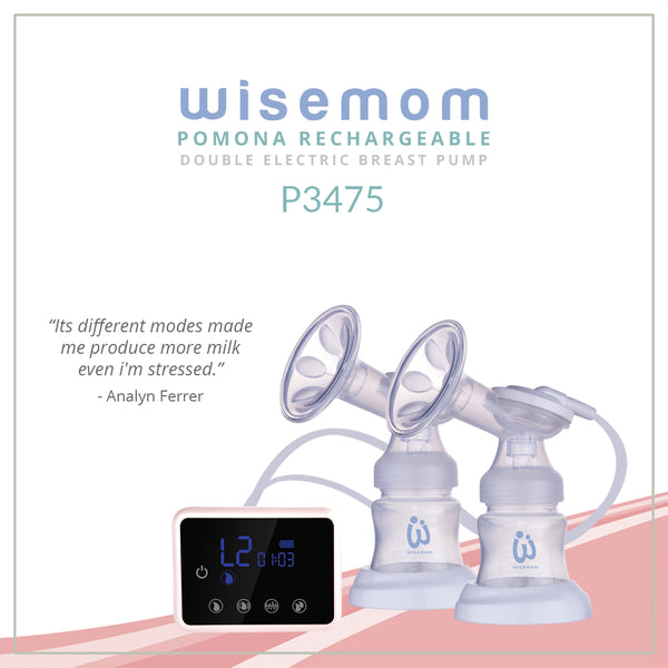 Wisemom Pomona Rechargeable Double Electric Breast Pump