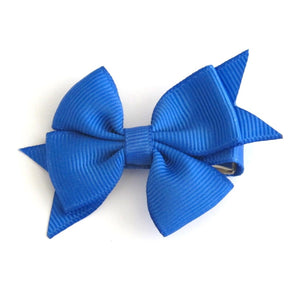 Celestina & Co. Petite Signature Bow Royal Blue