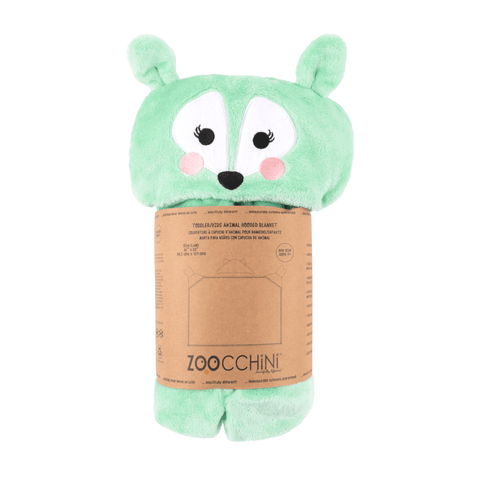 Zoocchini Hooded Blanket - Fawn