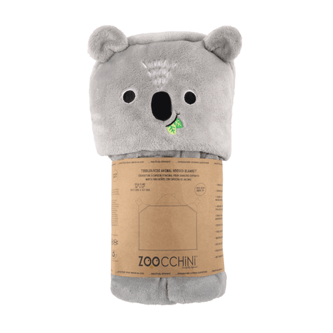 Zoocchini Hooded Blanket - Koala