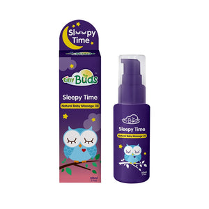 Tiny Buds Sleepy Time Natural Baby Massage Oil 50ml