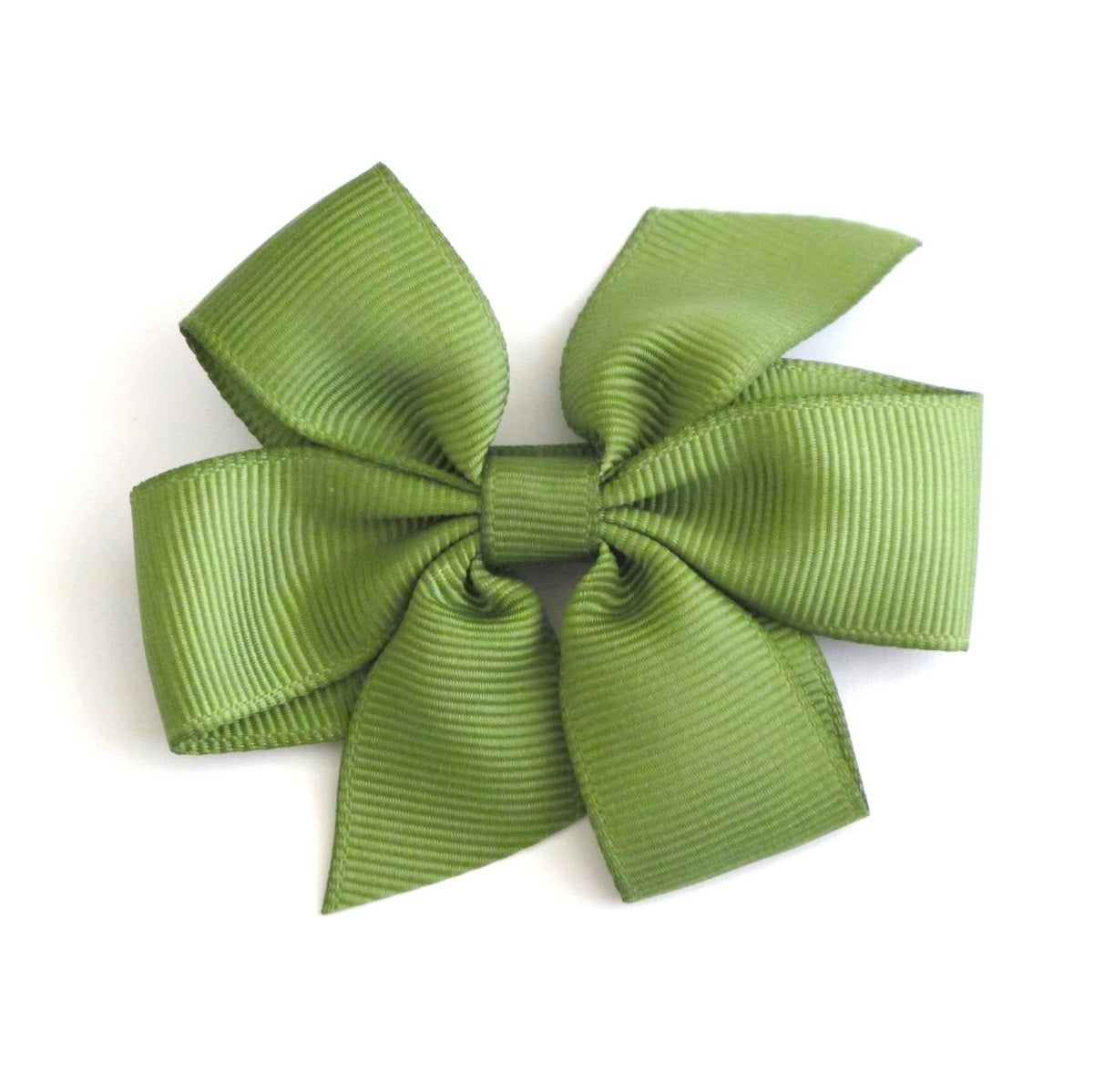 Celestina & Co. Medium Signature Bows Spring Moss