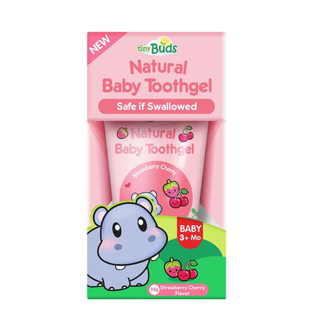 Tiny Fangs Baby Tooth Gel Stage 1 (55g) - Strawberry Cherry