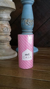 MT Casa Stripe Pink Tape